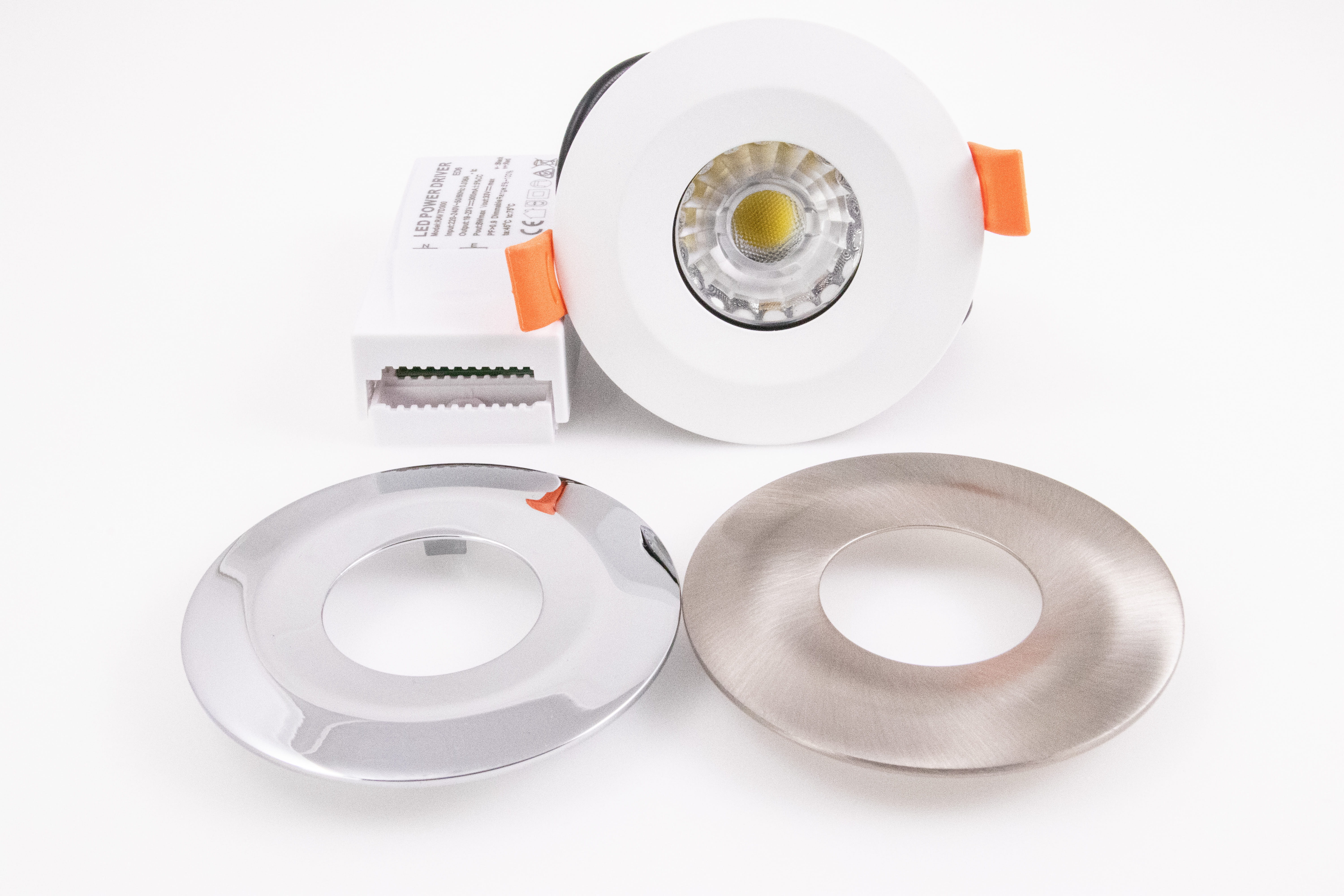 LED Fire-rated Spotlights