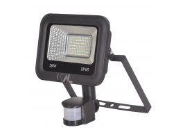 20W LED Floodlight with PIR sensor (>145 LM/watt)