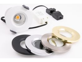 IP65 7W Fire Rated LED Spotlight (3000k - Warm White)