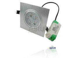 5W 30° Tilt LED Spotlight - Square (Driver Included)