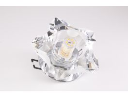 Solaris Fire Rated Crystal Fixture (G9 Bulb Compatible)