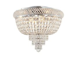 Crystal LED Chandelier w/ K9 Clear Crystal Glass